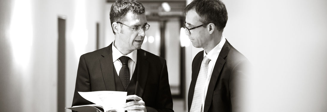 Gregor Ziegler und Helmut Eckart Ziegler im Dialog